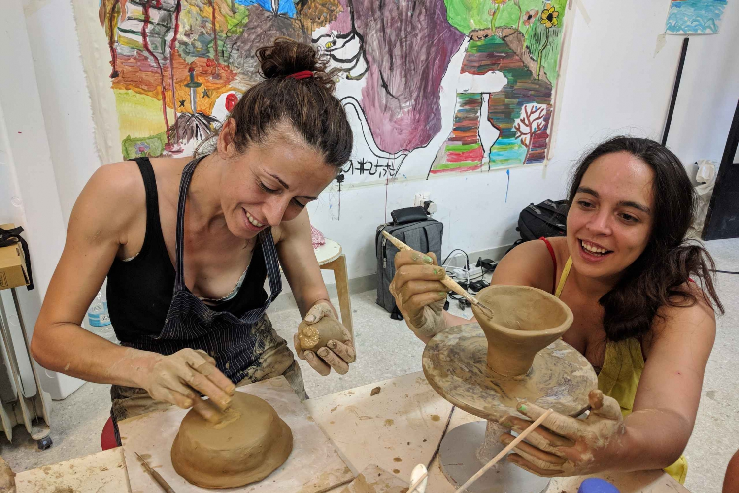 Athens Pottery Workshop: Make Your Own Greek Souvenir