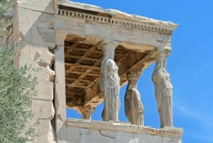 Athens: Private Airport Transfer & Acropolis Ticket
