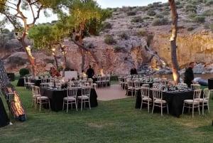Athens: Private Cape Sounio and Vouliagmeni Lake Sunset Tour