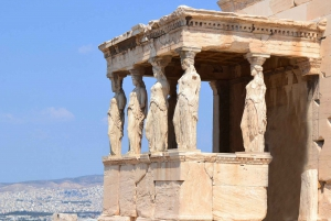 Athens: Private City Highlights Luxury Car Tour
