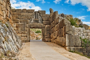 Athens: Private Corinth Canal and Mycenae Tour