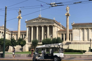 Athens: Private Evening Sightseeing Tour by Electric Tuk-Tuk