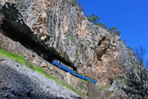 Athens: Private Tour to Corinth, Cave of Lakes & Cog Railway