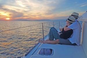 Athens Riviera: Half-Day Private Catamaran Cruise