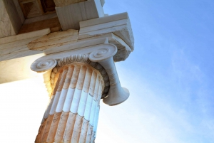 Athens Shared Airport Transfer and Guided Walking Tour