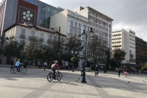 Athens: Sights and Food Tour on an Electric Bicycle
