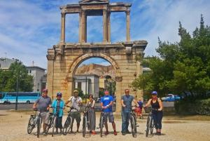 Athens: Sunset Bike Tour