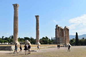 Athens: Temple of Olympian Zeus E-Ticket and Audio Tour