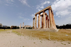 Athens: Temple of Olympian Zeus Self-Guided Virtual Tour