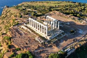 Athens: Temple of Poseidon and Cape Sounion Sunset Tour