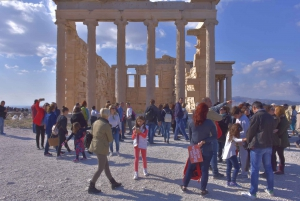 Athens: The Acropolis and Greek Food Private Guided Tour
