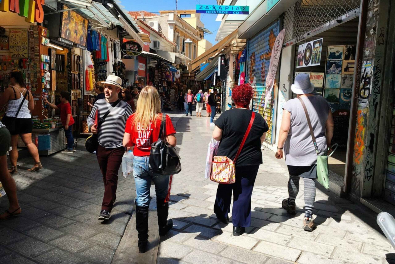 Athens Tour with Traditional Greek Food Samples
