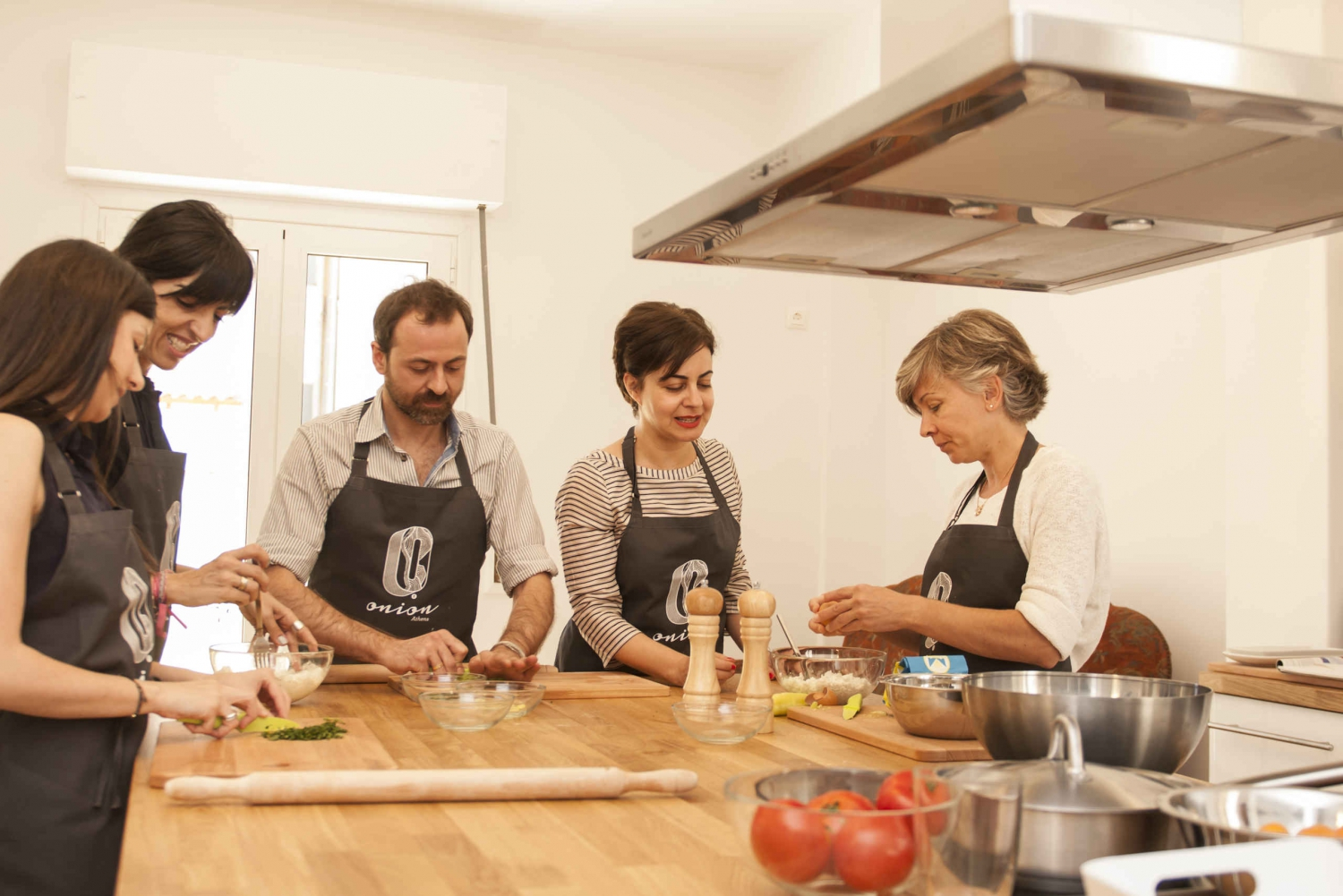 Athens Walk, Shopping + Cooking Class (duration 6 hours)