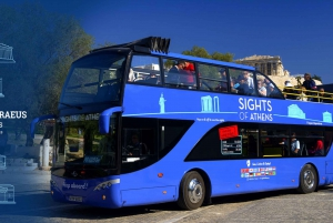 Blue Hop-On Hop-Off Bus and Acropolis Museum Ticket