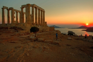 Cape Sounion Sunset Tour from Athens