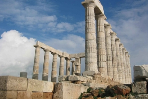 Cape Sounion with Guided Tour in the Temple of Poseidon
