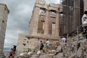 City & Acropolis Tour with Private Car and Driver