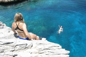 Cliff Diving Boat Trip in Nea Makri