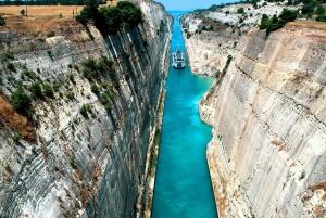 Corinth Canal, Corinth, Mycenae & Nafplion Argolis Tour