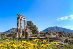 Day Trip to Delphi and Athens Hop-On Hop-Off Bus Ticket