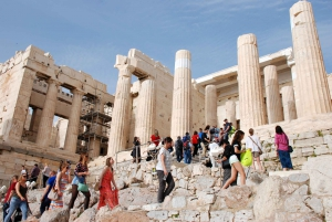 Early Morning Acropolis & Plaka Guided Walking Tour