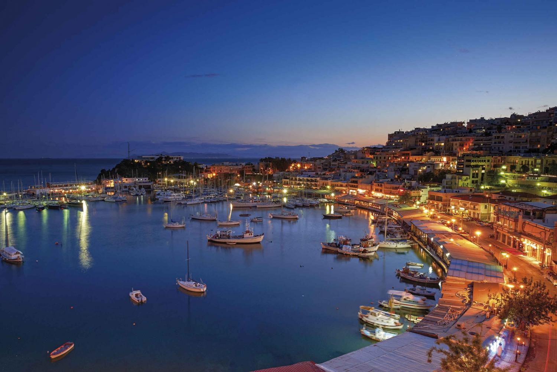 Evening in Piraeus & Romantic Dinner in Athens