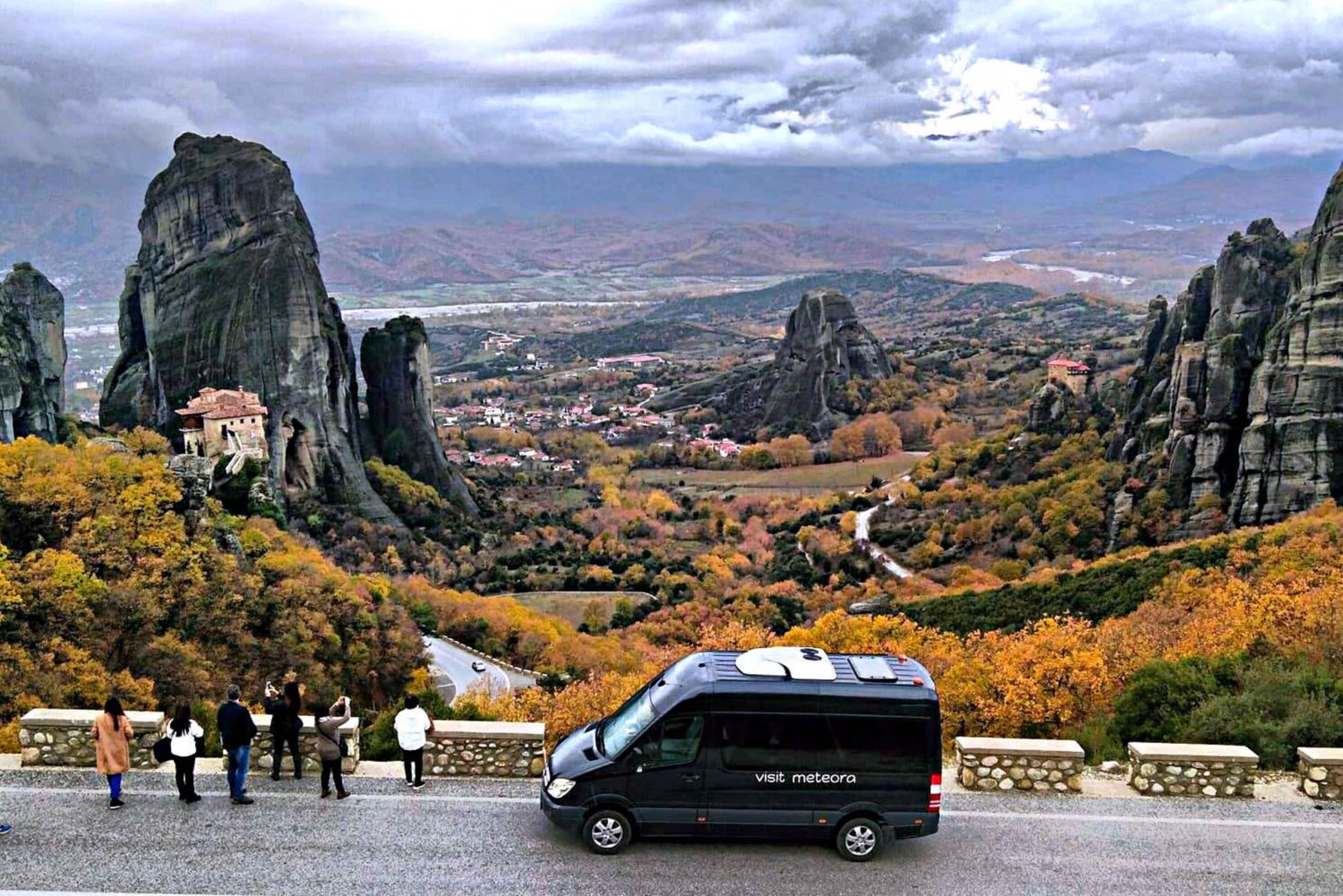 From  3-Days Meteora Rail Tour