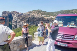 From Athens: Full-Day Meteora Trip by Train