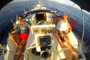 From Athens: Full Day Private Sailing Trip to Aegina Island