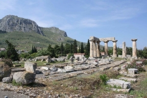 From Athens: Road Trip to Ancient Corinth on St.Paul's Steps