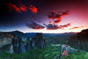 From Athens: Two-Day Rail Tour to Meteora