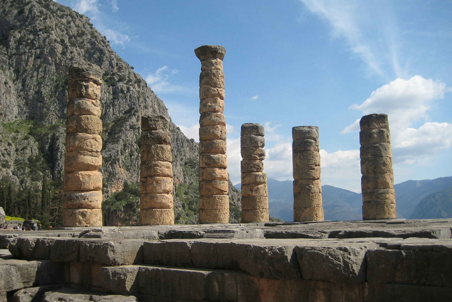 From  Day Tour to Delphi