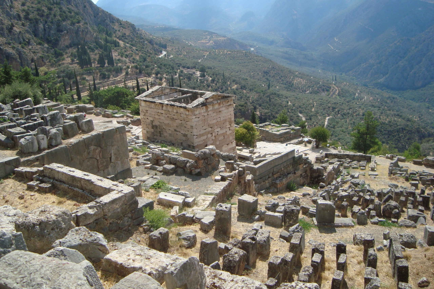 From  Delphi Full-Day Private Tour