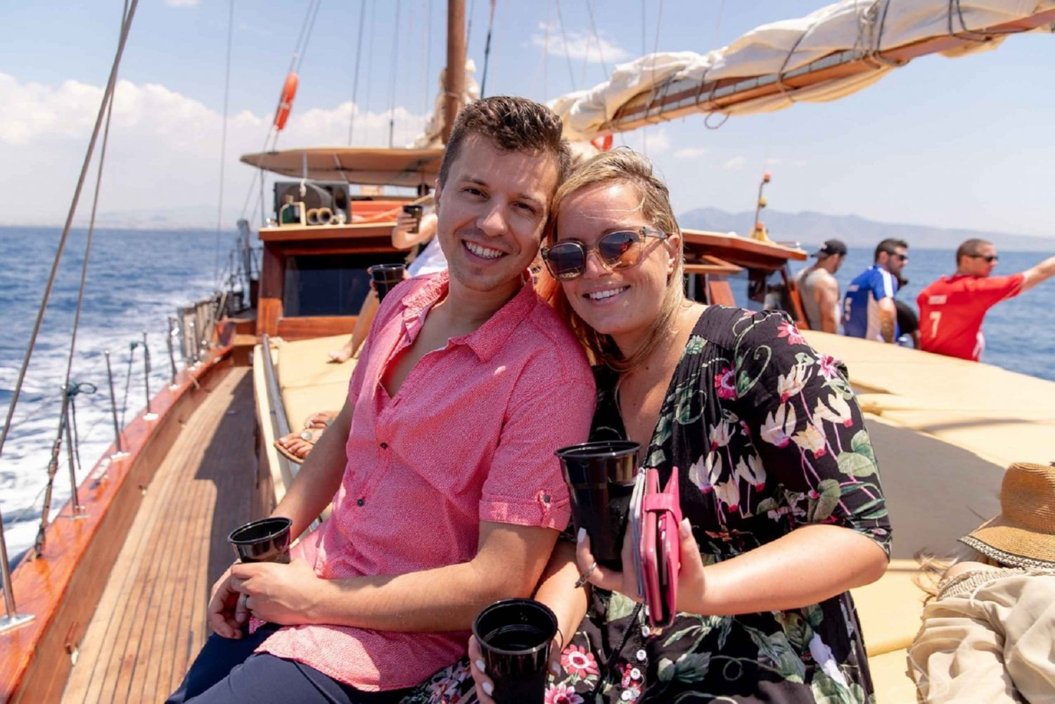 From  Full-Day Boat Trip to Aegina Island with Lunch