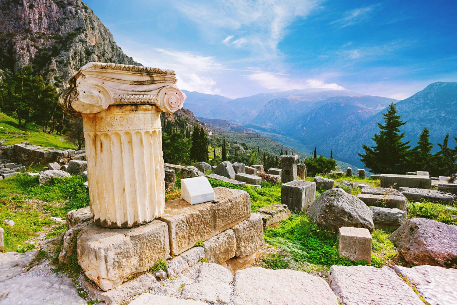 From  Full-Day Bus Trip to Delphi & Arachova