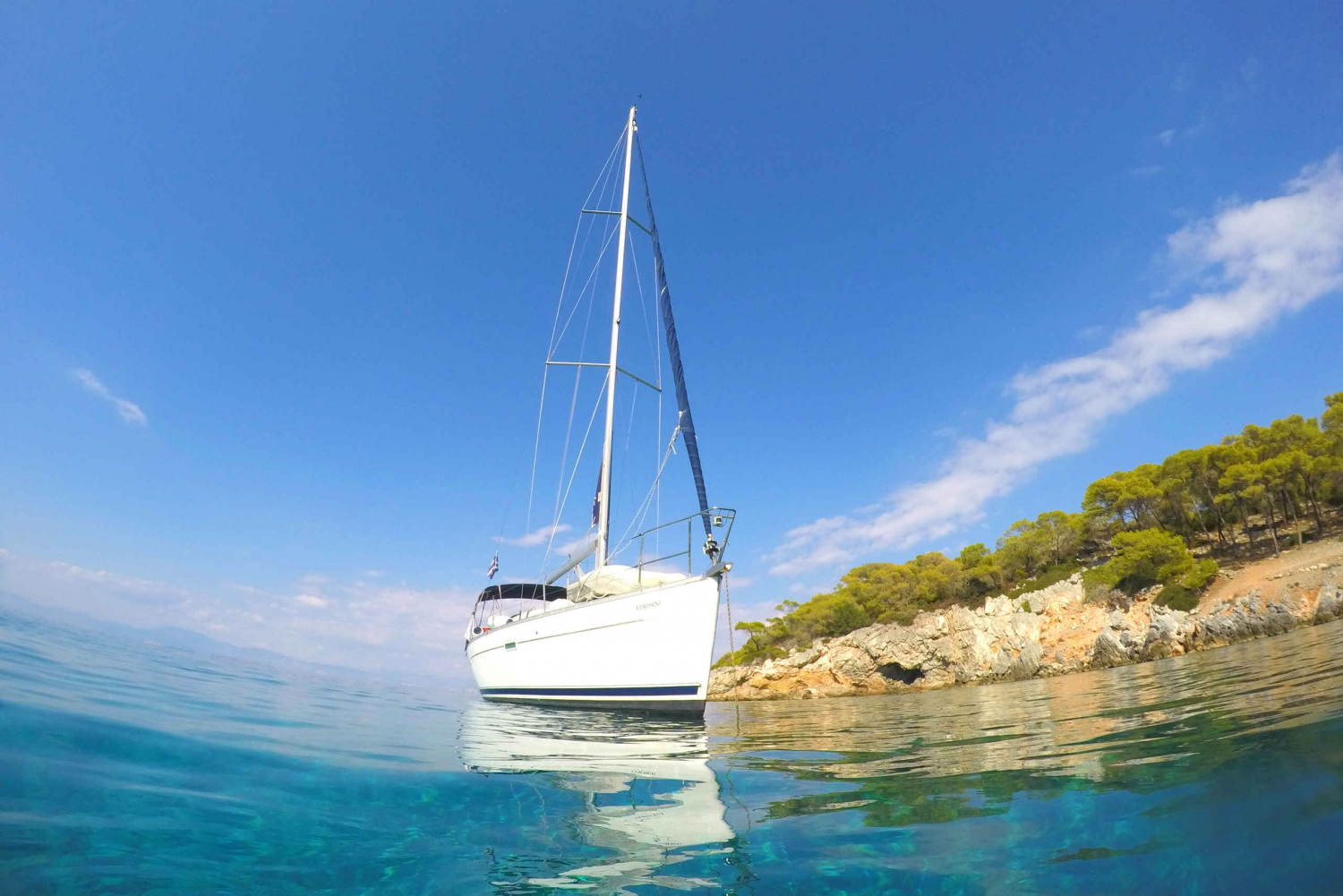 From Full Day Private Sailing Trip to Aegina Island