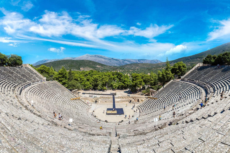 From  Mycenae and Epidaurus Private Tour