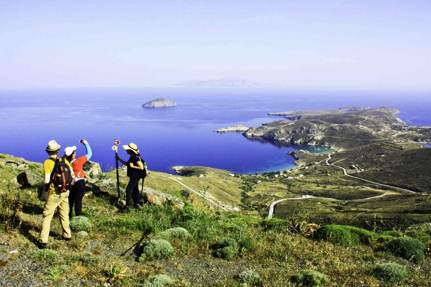 From Sailing and Hiking the Greek Cyclades