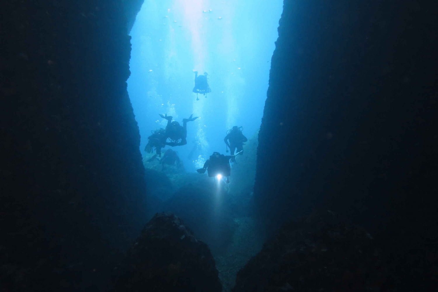 From Scuba Diving at the Blue Hole