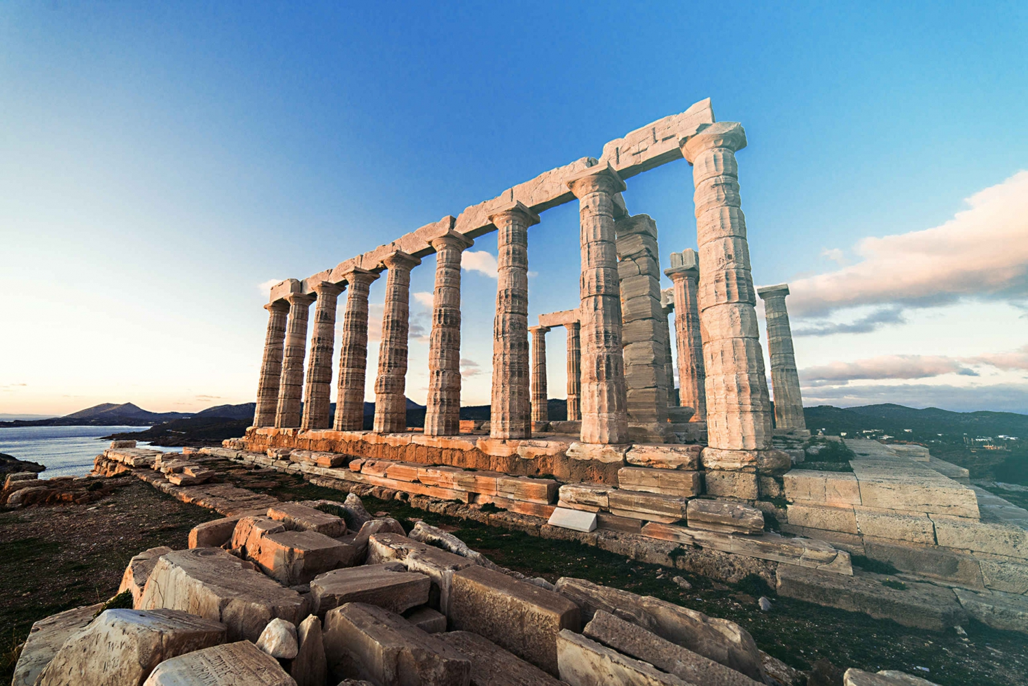 From  Temple of Poseidon and Swimming Day Trip