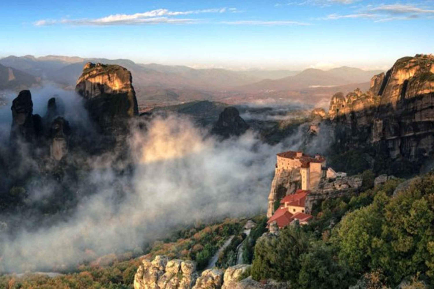 From  Two-Day Rail Tour to Meteora
