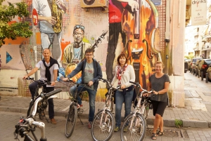 Greek Life and Street Art Electric Bicycle Tour