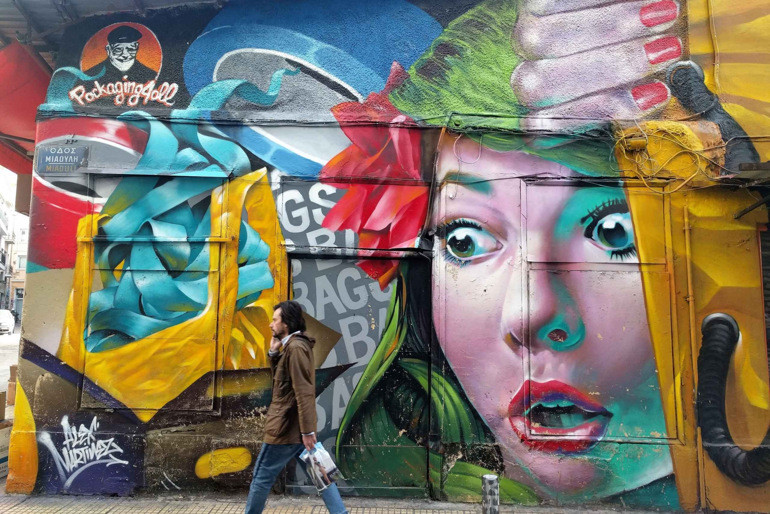 Guided Urban Street-Art Tour