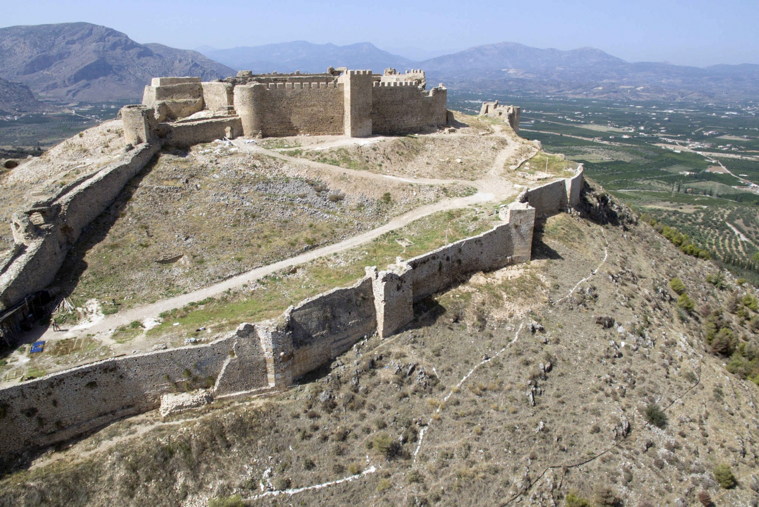 Mythical Peloponnese: Fortresses and Sanctuaries from Athens