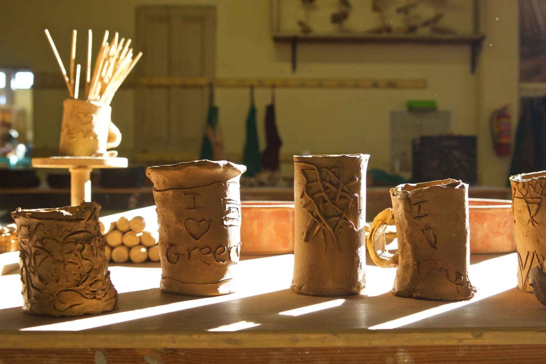Mythology & Pottery For Kids Private Experience