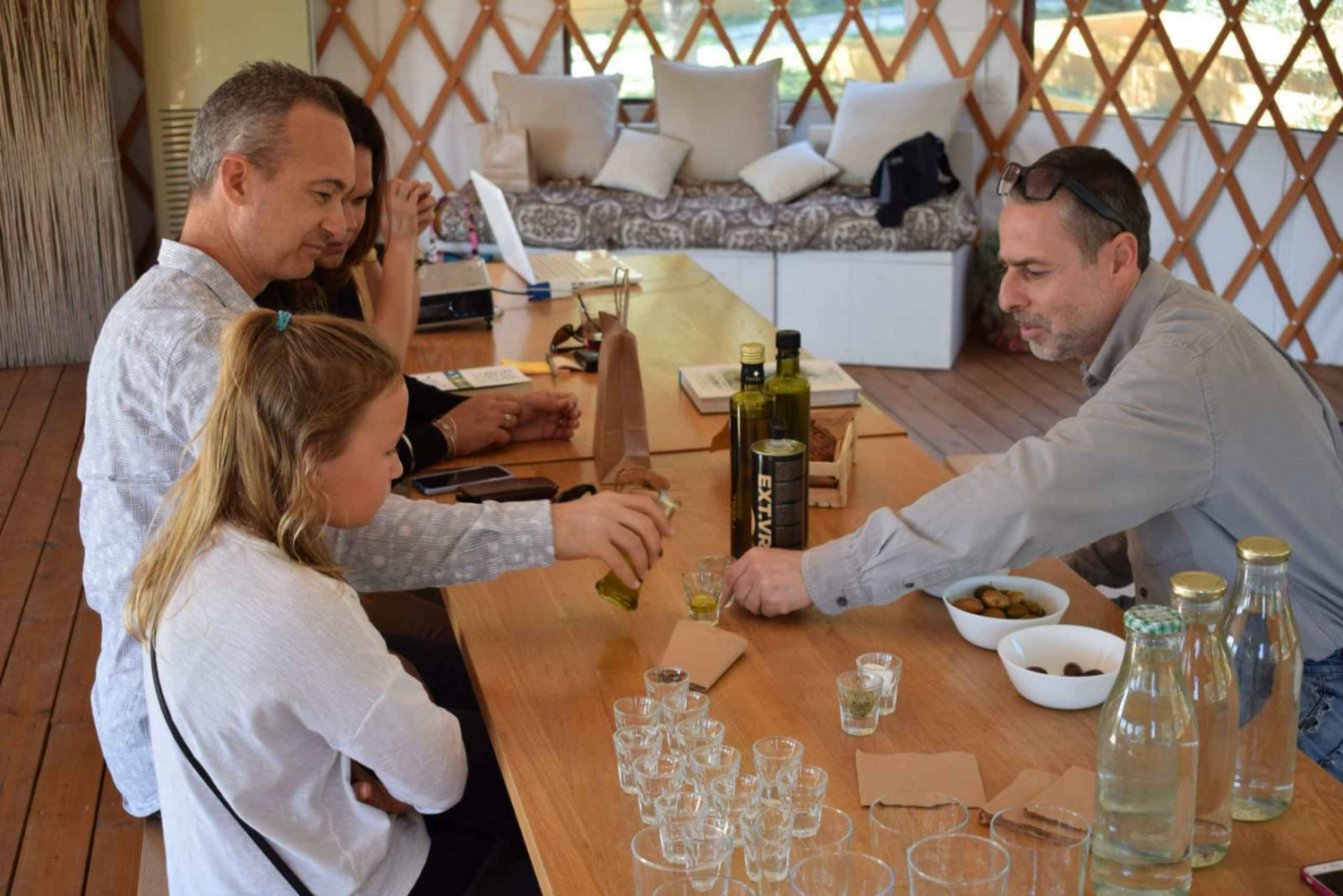 Olive Oil Farm Tasting Workshop
