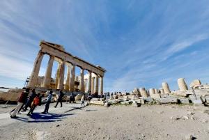 Parthenon Temple Virtual Tour From Home