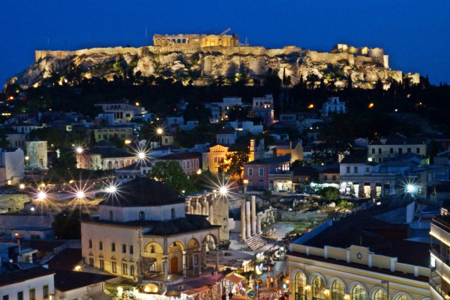 Plaka: Traditional Dinner with Greek Dance Show