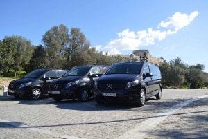 Private Airport Transfer & Acropolis Ticket