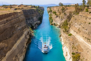 Private Corinth Canal and Mycenae Tour